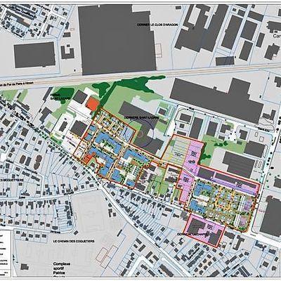 Communauté de communes du pays de Valois : L'étude d'urbanisme « projet de ville » de Crépy en Valois