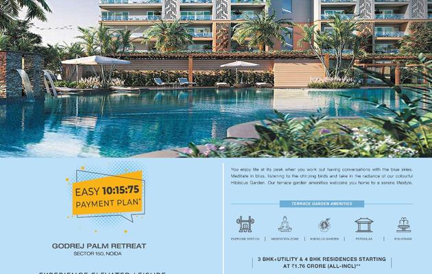 Godrej Palm Retreat Sector150 Noida   Space That'll Create Rhapsody In Your Life