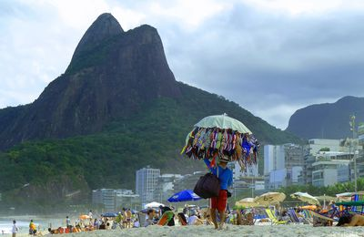 Rio de Janeiro, les plages de Leblon, Ipanema, Copacabana