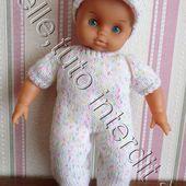 tuto gratuit poupée : casquette en jersey et mousse - Chez Laramicelle