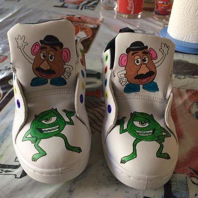 chaussures Pixar