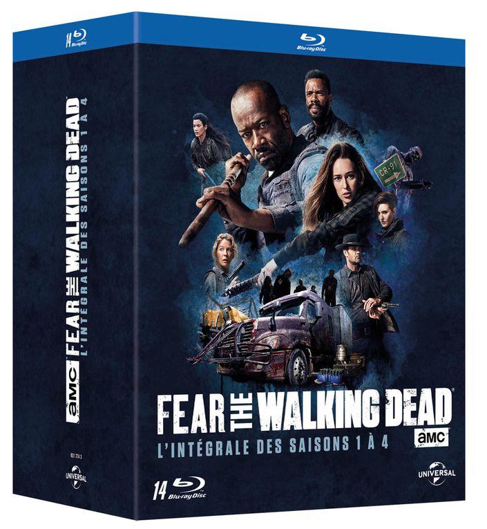 La saison 4 de Fear the Walking Dead et une intégrale de la série en DVD et Blu-Ray le 5 décembre 2018 !