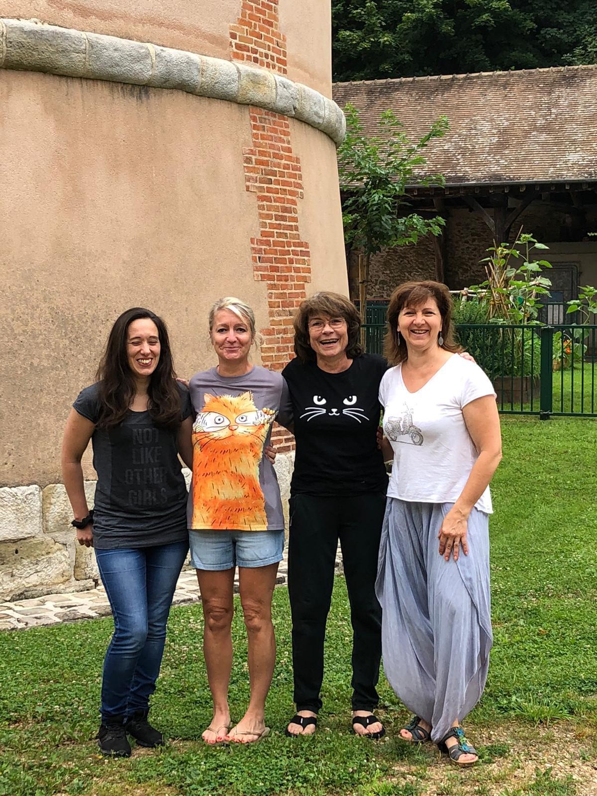 Magali, Florence, Leslie et Dany