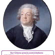 15 citations sur MIRABEAU, et 3 présentations du tribun révolutionnaire et du monarchiste tempéré