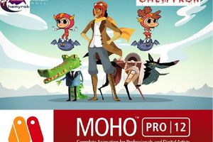 Smith Micro Moho Pro 12,(anima en 2d facil y rapido)