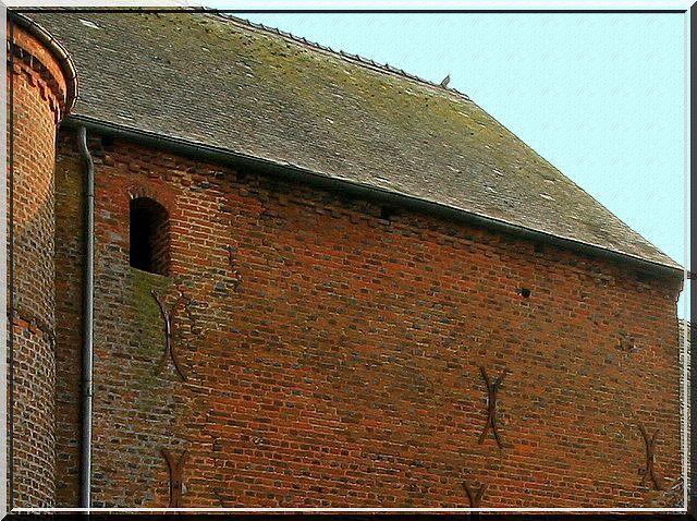 Diaporama église fortifiée Cuiry lès Iviers