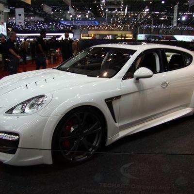 Les Porsche du salon