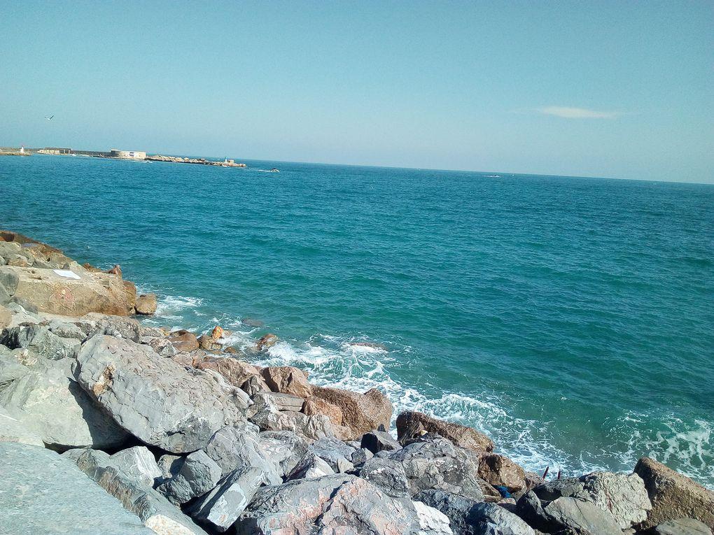 Sète, la mer