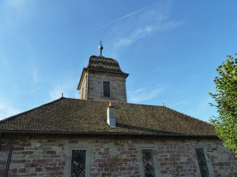 Tourisme: un clocher comtois