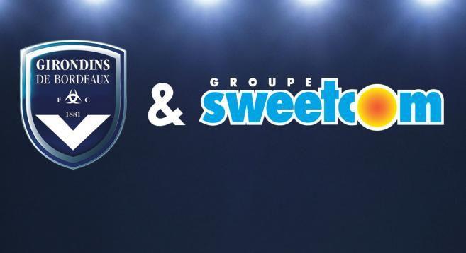 Sponsoring : Sweetcom nouveau sponsor majeur des Girondins de Bordeaux