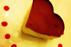 Gâteau au fromage blanc , façon Saint Amour