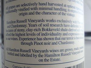 VINO PASSION -  Dégustation Vin Afrique du Sud -Chardonnay.