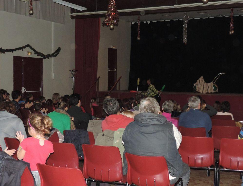 Spectacle de cirque du samedi 3 décembre