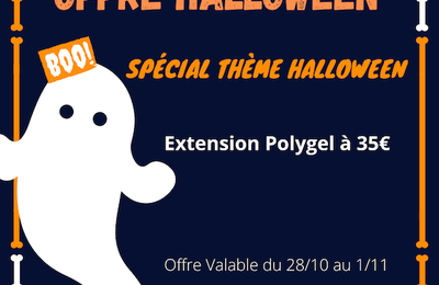 OFFRE HALLOWEEN