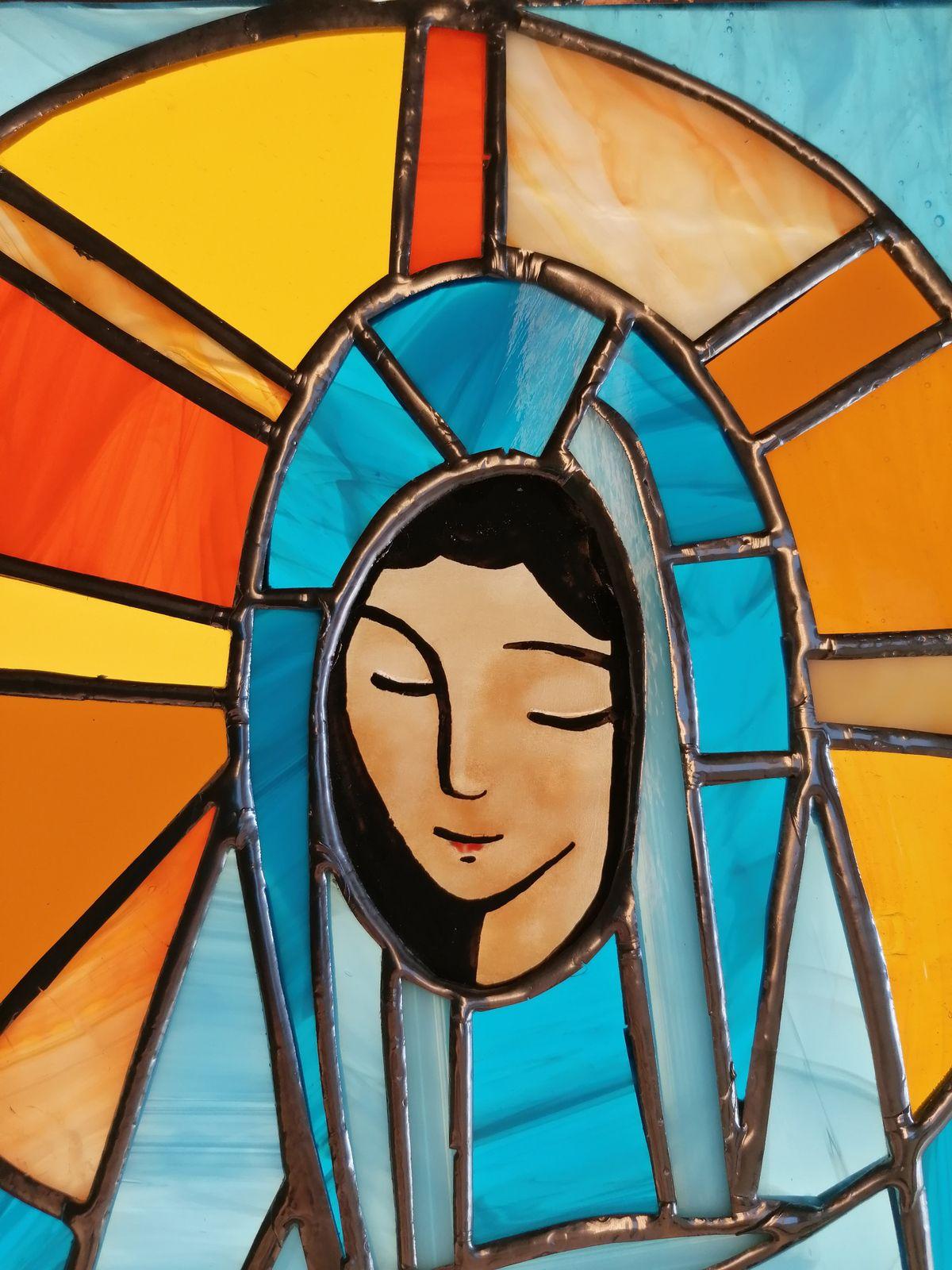 La Vierge Source d'Inspiration ( 9 déclinaisons réalisées en 2020)