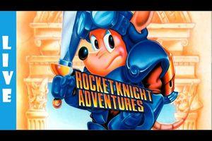 Megadrive - Rocket Knight Adventures