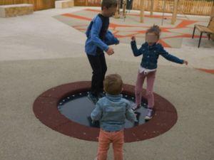 Le trampoline !!!