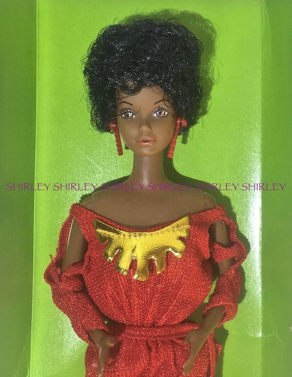 """BLACK"" BARBIE BOXED DOLL 1979 MATTEL #1293"
