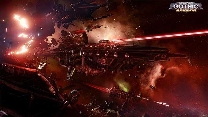 La flotte de l'Imperium présentée dans la nouvelle vidéo de Battlefleet Gothic: Armada !