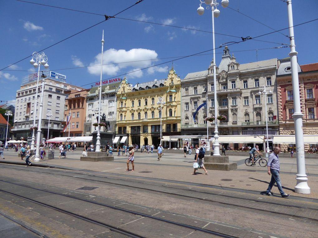 Zagreb - Croatie été 2015 - 1/2.