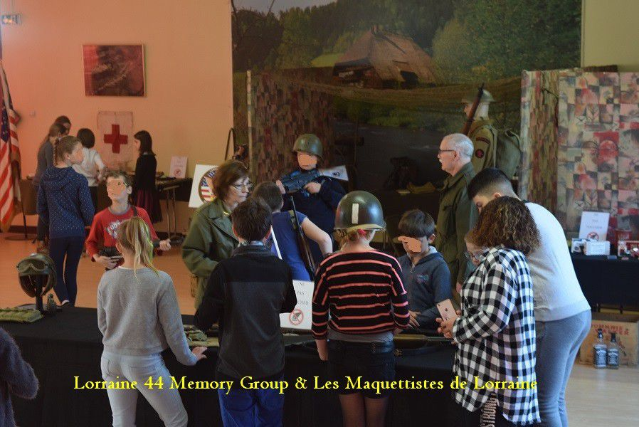 LORRAINE 44 MEMORY GROUP & Les MAQUETTISTES  de LORRAINE  - Devoir de MEMOIRE -