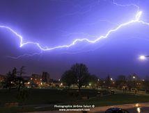 Nuits d'orages au parc Dalayrac