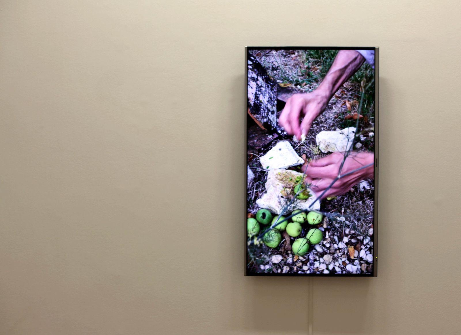 """Video """"La Señora de Las Nueces"""", 2020 de Abraham CRUZVILLEGAS - Courtesy de l'artiste et de la Galerie Chantal Crousel © Photo Éric Simon"""