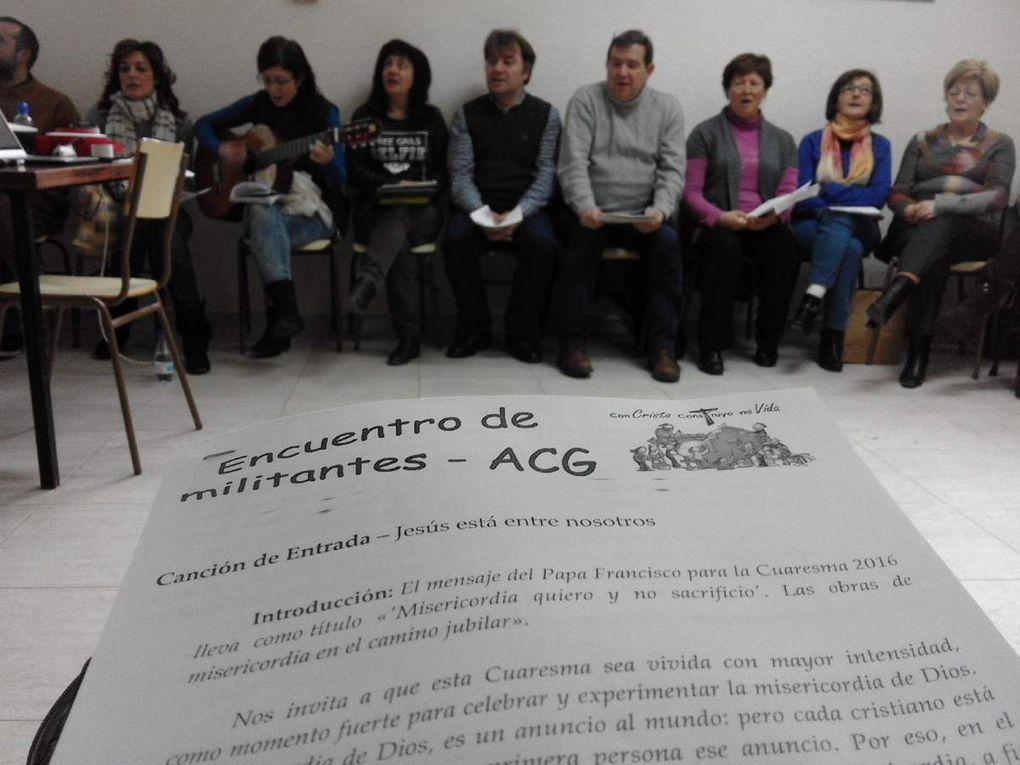Encuentro de militantes de Acción Católica en Briviesca