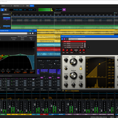 Mixcraft 9 Recording Studio multitrack recording software.