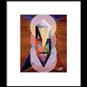 Le Chariot - Otz Chiim Framed Print by Michael Bellon