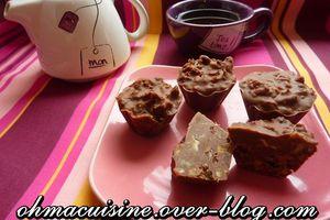 Rochers au chocolat (cadeau gourmand)