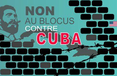 Pétition : Levée immédiate du blocus contre Cuba !