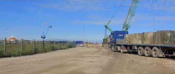 Projet d'un terminal minéraux sur le port de Cherbourg