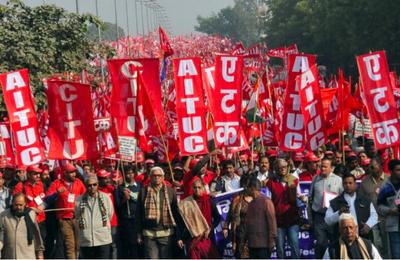Inde: 250 millions de grévistes. Record du monde battu!