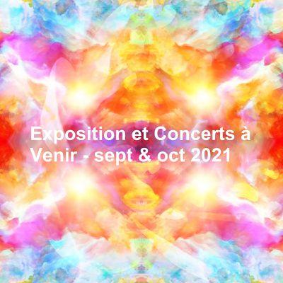 Exposition Graphisme et Concerts à Saint Chef (Isère)