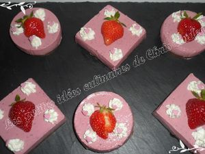 Cheesecake ricotta et fraises