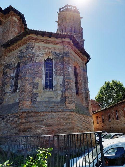 Rieux-Volvestre : la cathédrale de la Nativité-de-Marie.