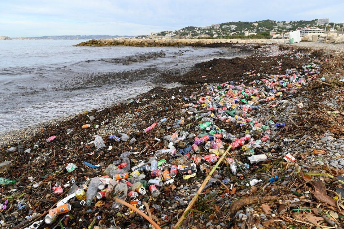 Marseille, déchets et des souris