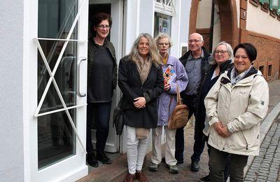 Veitshöchheimer Arbeitskreis Inklusion traf sich am Europäischen Gleichstellungs-Protesttag zum Gedankenaustausch zur Barrierefreiheit des Jüdischen Kulturmuseums