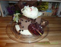Gâteau d'anniversaire vanille chocolat
