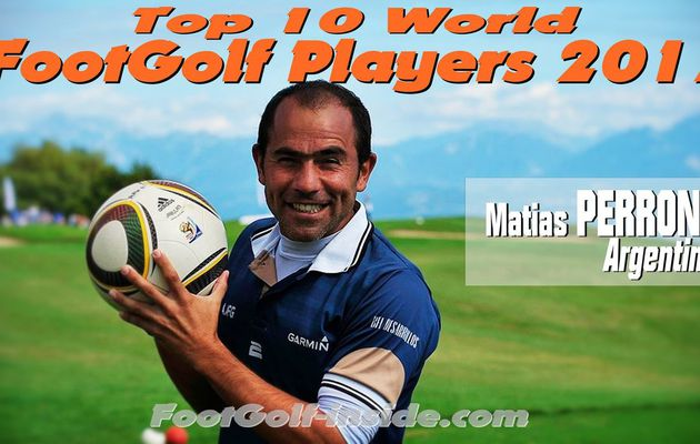 Top 10 players 2017 : Matias PERRONE
