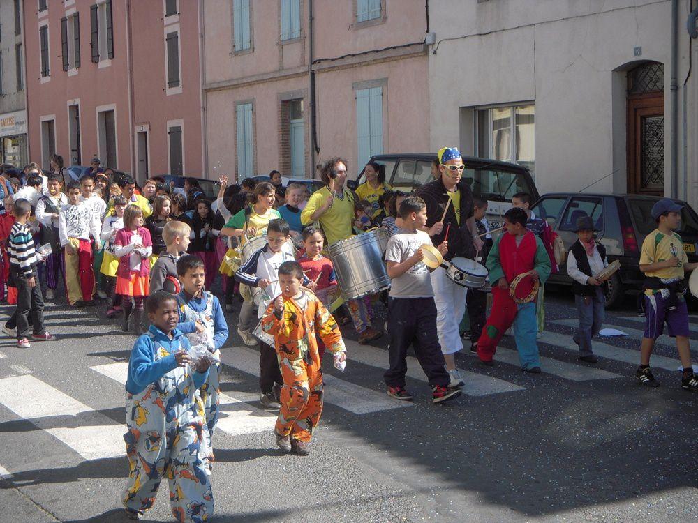 Carnaval des Maisons de l'Enfance et des Centres de Loisirs Maternels