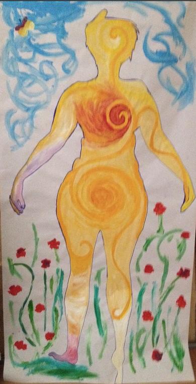 Mon corps de femme et moi, retour du stage de mai 2019. Deuxième partie. Le travail sur les silhouettes, une expression de soi ... habitée ! L'annonce du stage 2020 sera bientôt sur ce blog.