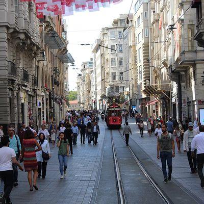'Istiklal caddesi'