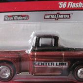56 FLASHSIDER CHEVROLET CAMEO PICKUP CHEVROLET 1956 HOT WHEELS 1/64 - car-collector.net