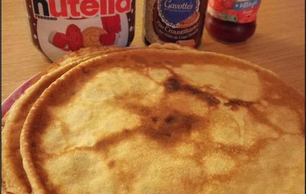 Crêpes au Cooking chef gourmet