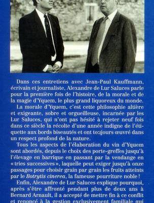 2. Le Roi des Moelleux : Yquem
