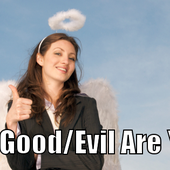 """I am 96% Good and 4% Evil. That makes me an """"Angel."""" How Good/Evil Are You?"""