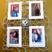 Faux Metal Filigree Frame Tutorial