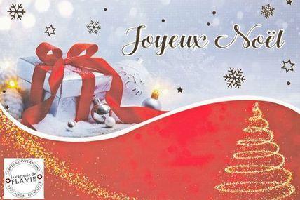 Pensez à vos cartes de Noël :)